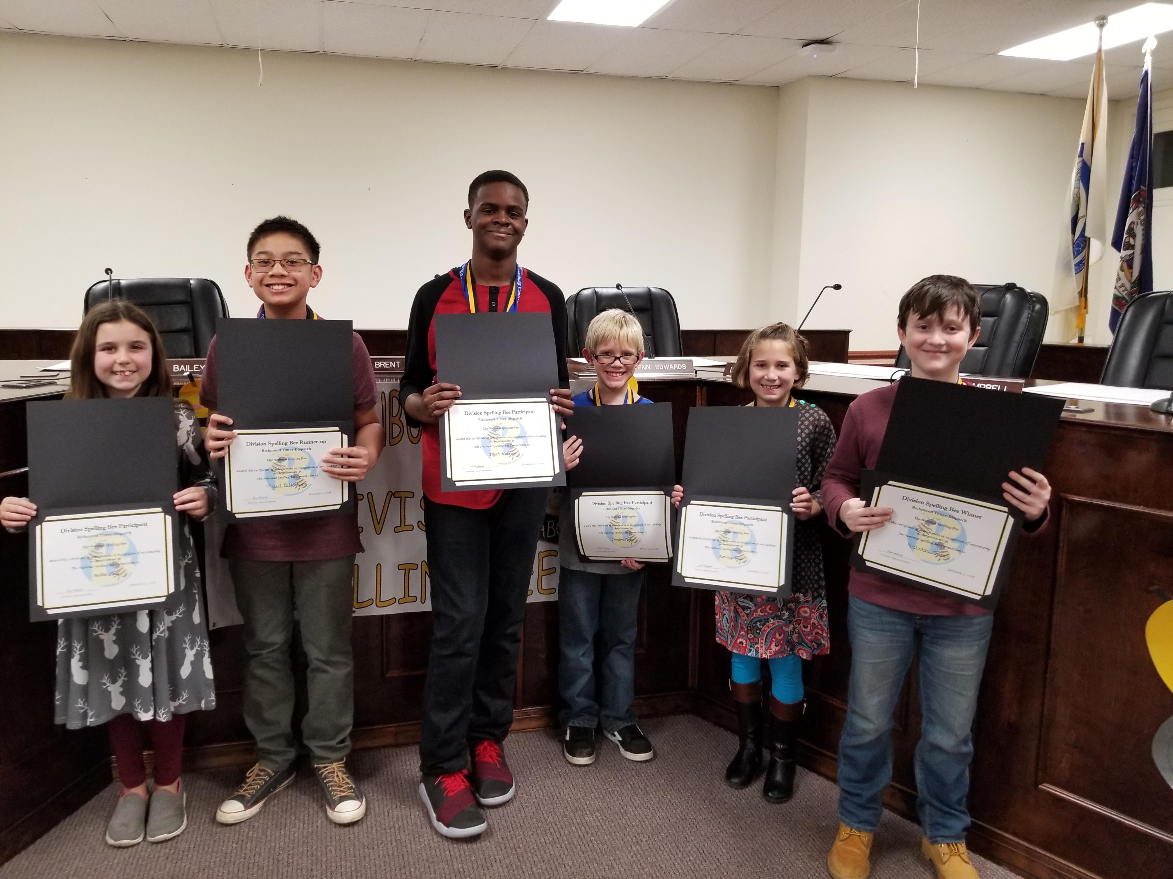 Division Spelling Bee | Mecklenburg County Public Schools