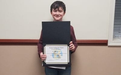 Division Spelling Bee Winner