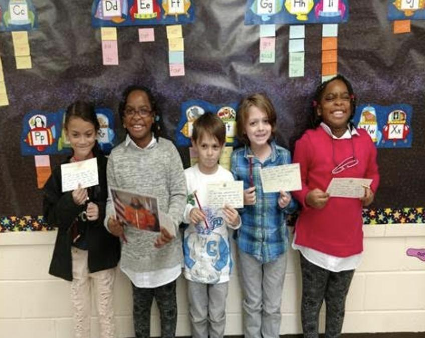 2nd Graders Write Letters to Congressman Thomas Garrett