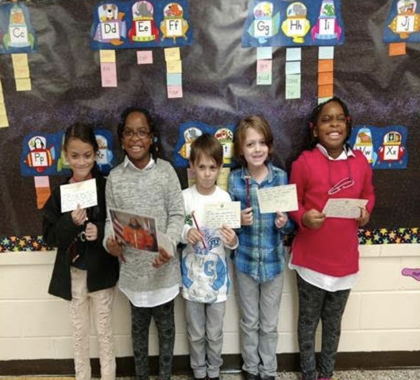 2nd Graders Write Letters to Congressman Thomas Garrett