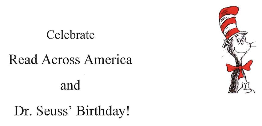 Celebrate Read Across America Day
