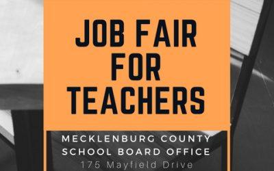 Job Fair for Teachers (April 14)