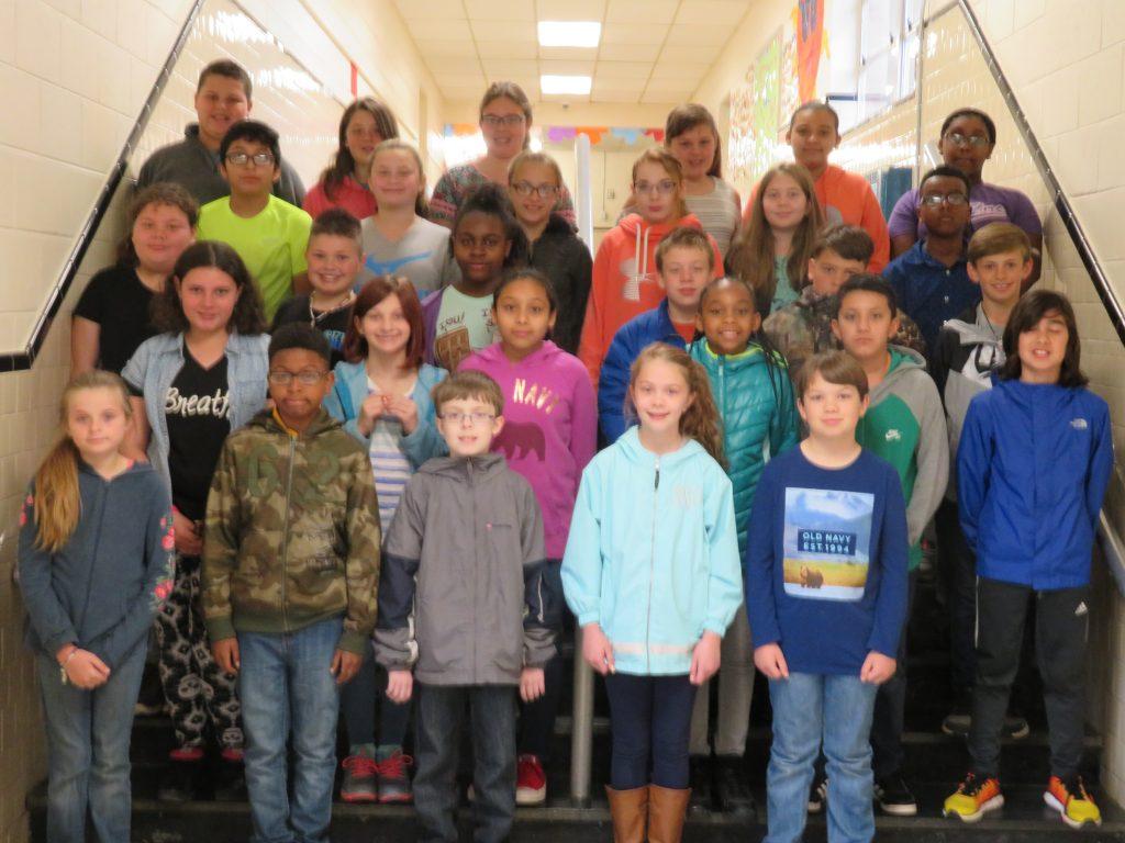5th Grade 3rd 9 Wks. Honor Roll