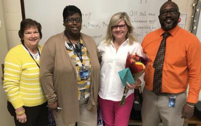 2017-2018 Teacher of the Year!