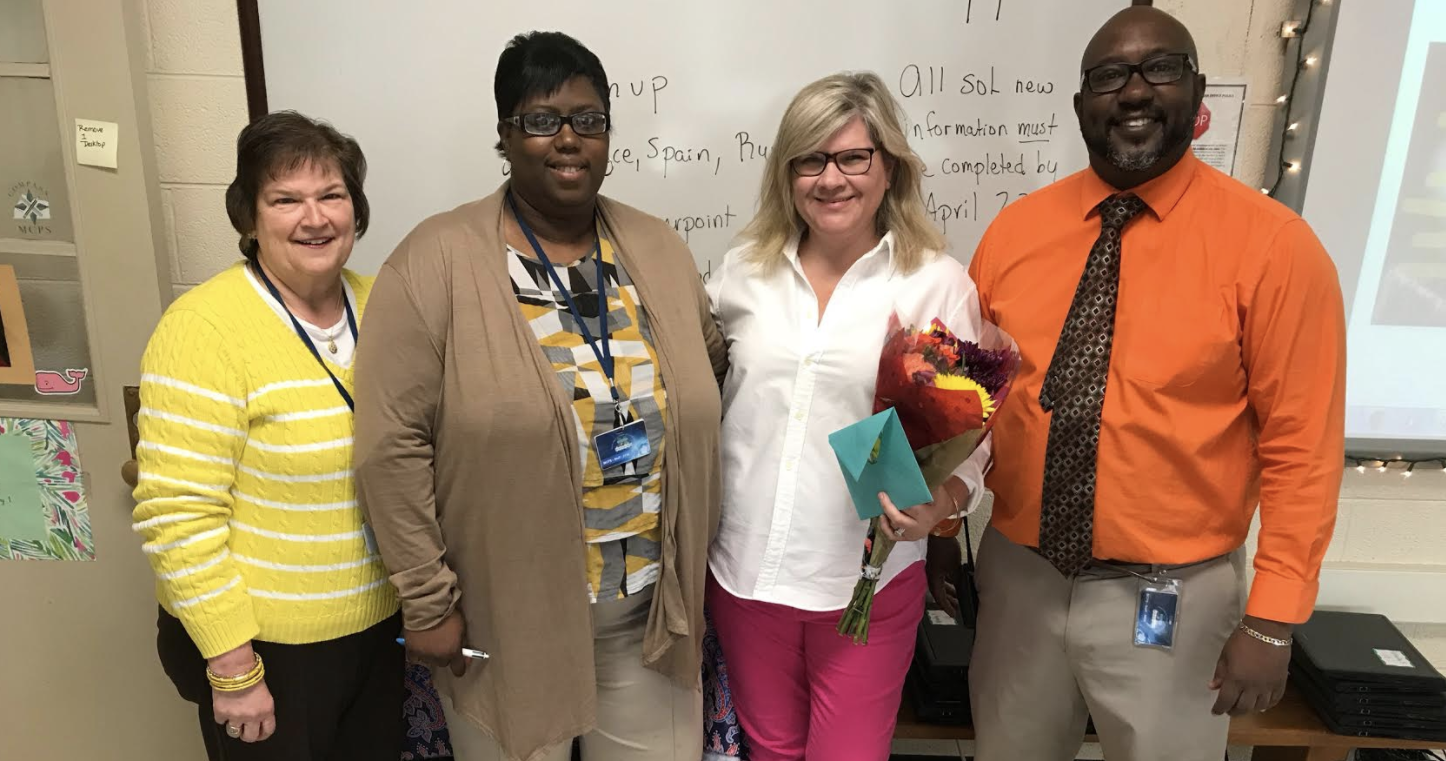 2017-2018 Teacher of the Year!