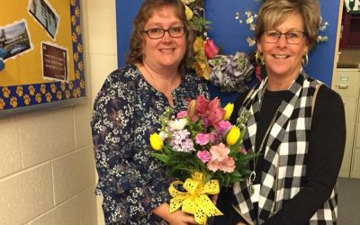 Yvette Morris: PVMS Teacher of the Year!