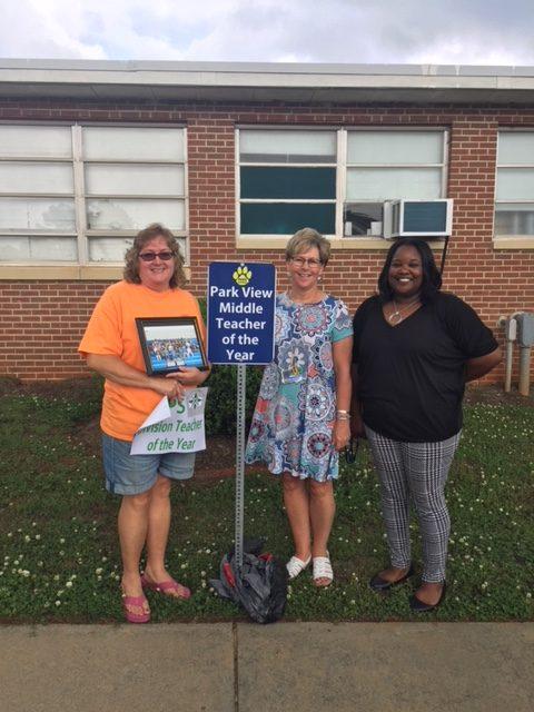Division Teacher of the Year: Yvette Morris