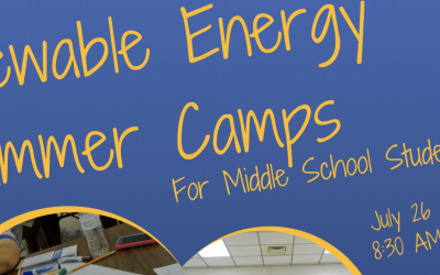 Solar Education Summer Camps (July 26-27)
