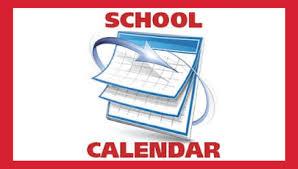 PVMS School Calendar