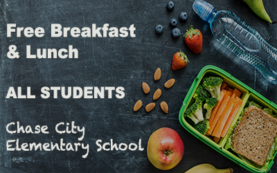 Free Breakfast & Lunch  @  Chase City Elementary School