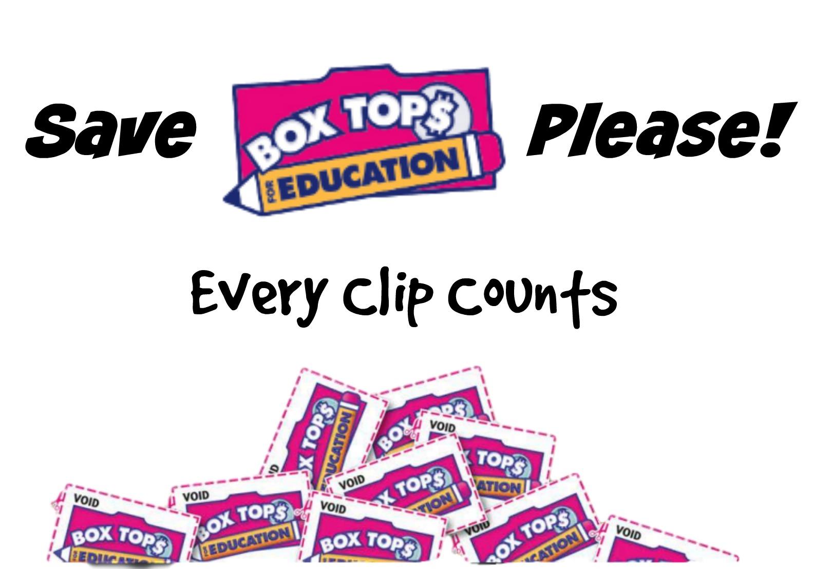 Box Tops Wanted!
