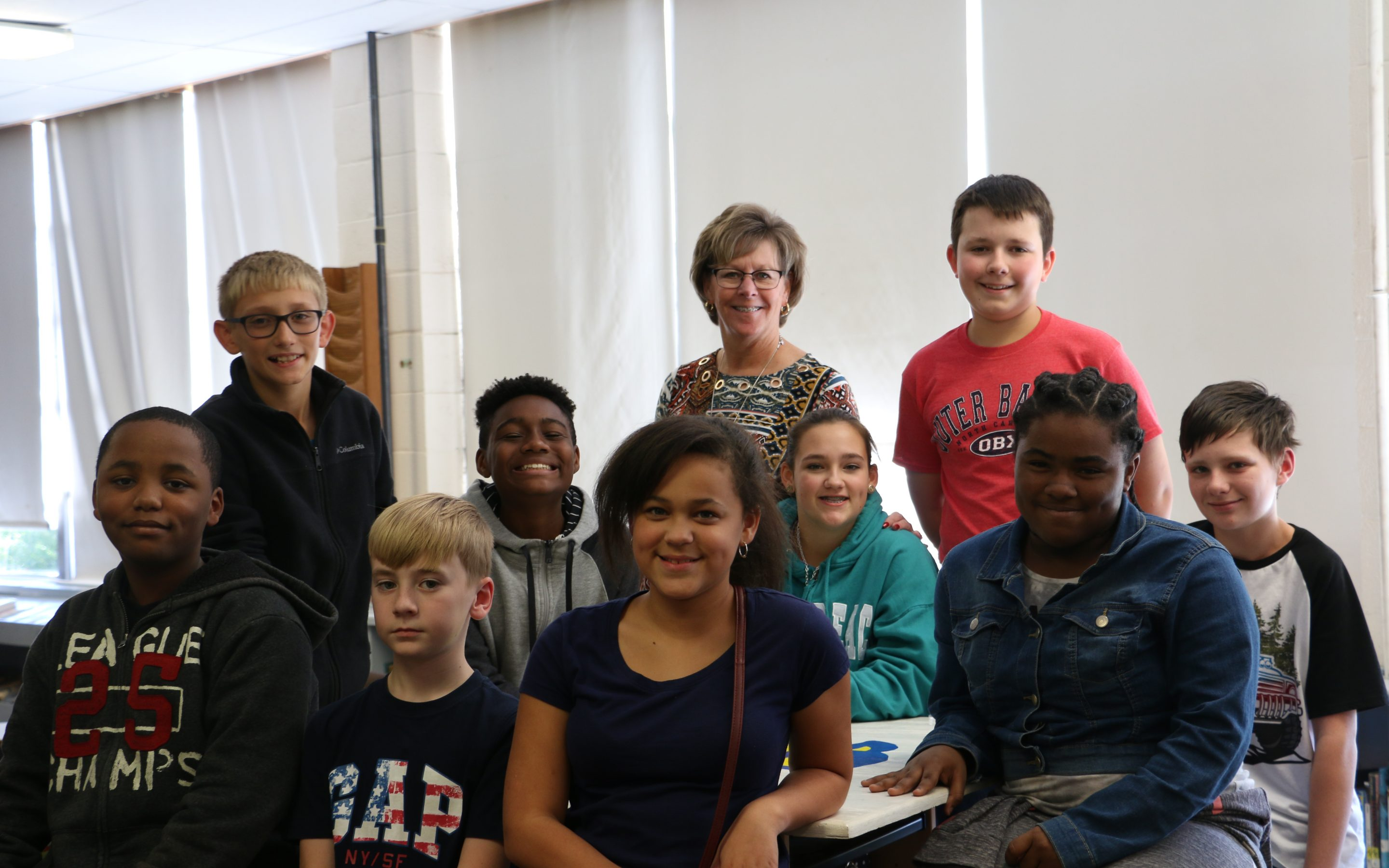7th Grade Citizenship Students for the 1st Nine Weeks