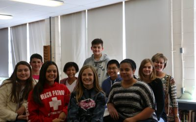 8th Grade Citizenship Students 1st Nine Weeks