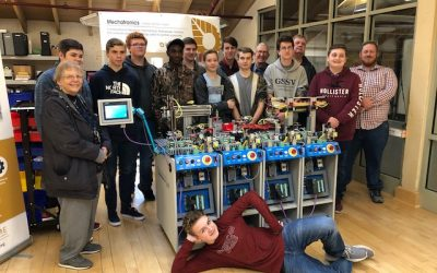 Bluestone Robotics Team meets Southern Virginia Higher Education Center (SVHEC) staff