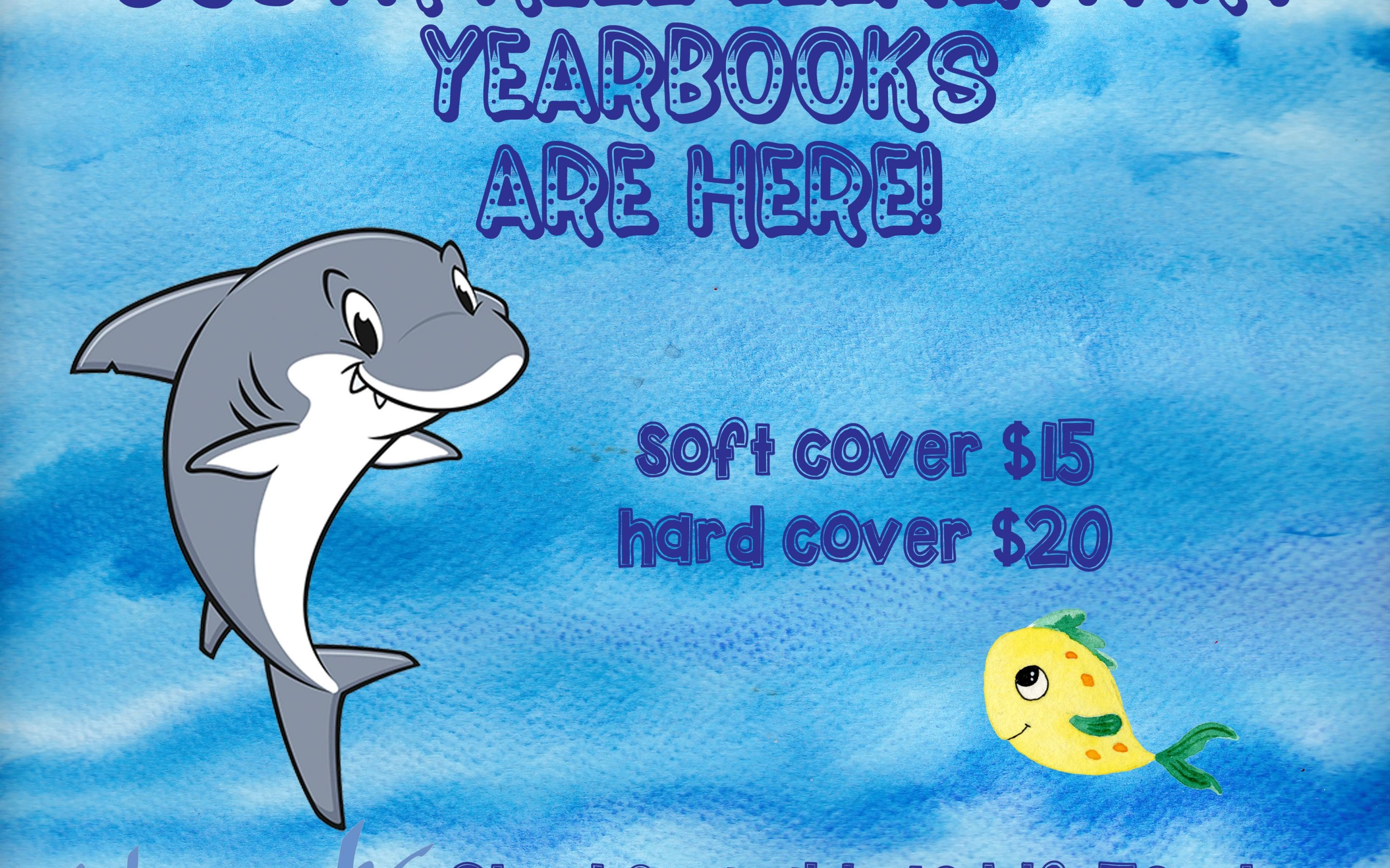 Yearbooks are here and available!