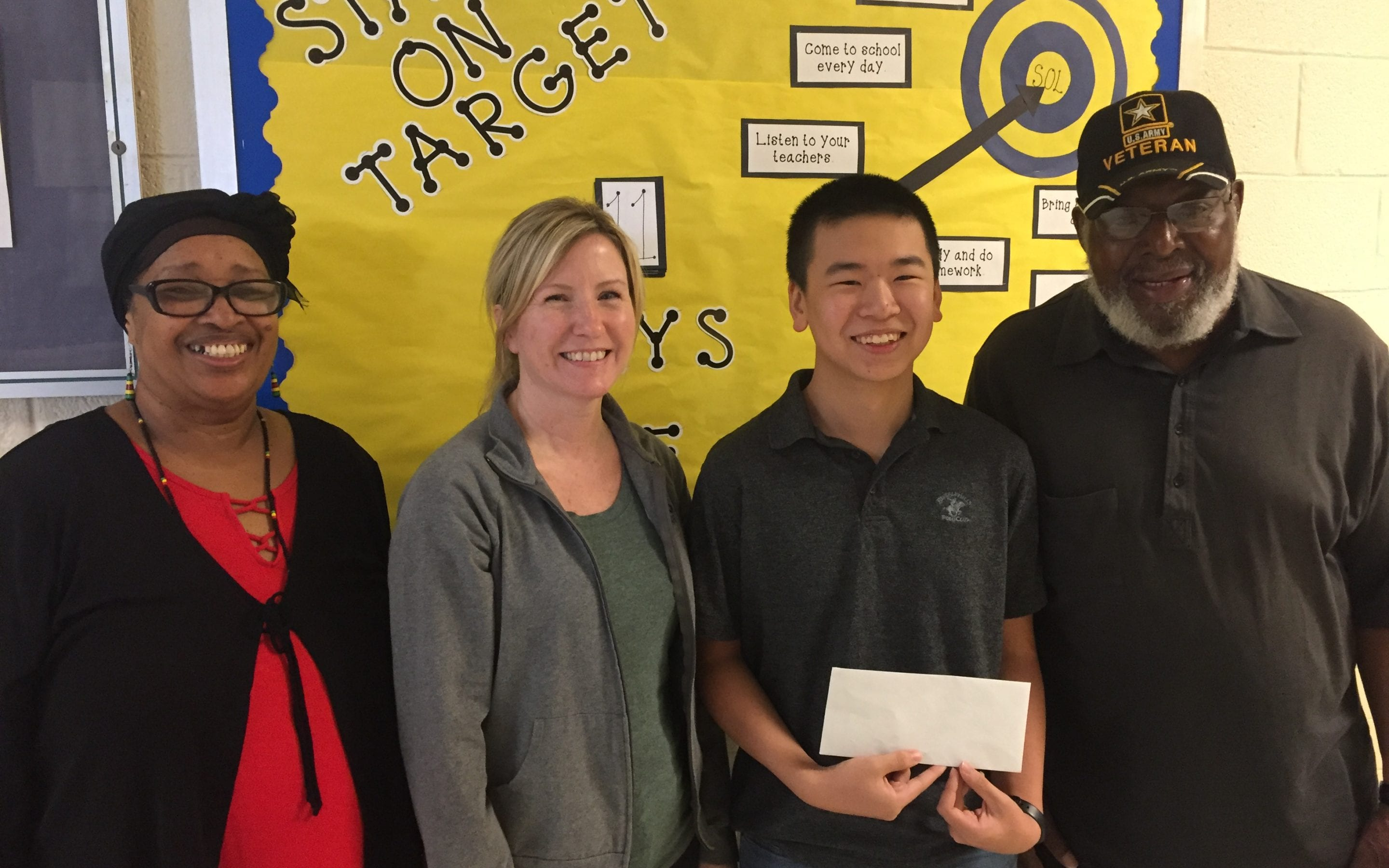 Patriots Pen Essay Contest Winner: Jason Chen