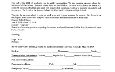 Summer School at BMS
