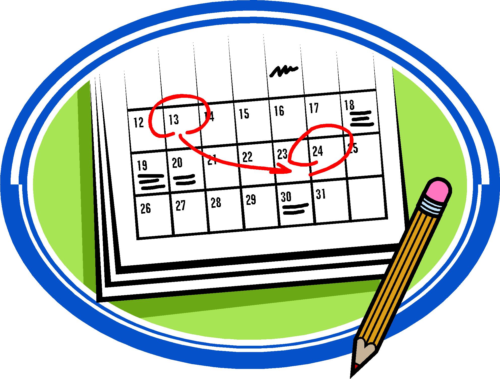 Calendar Change – Labor Day