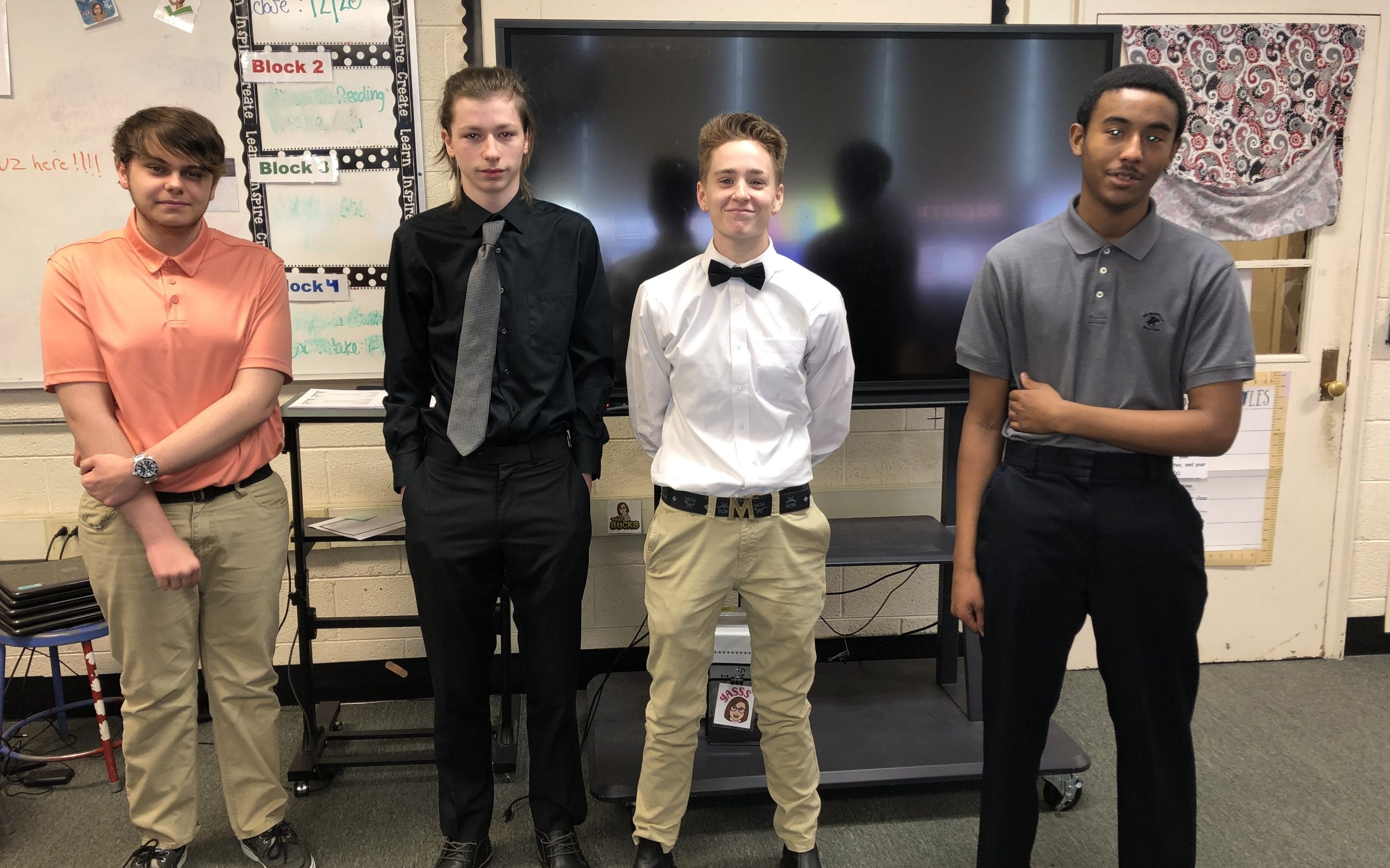 English 12 Students Participate in Mock Interviews