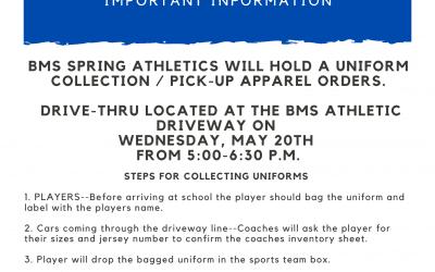 Spring Sports Equipment Return